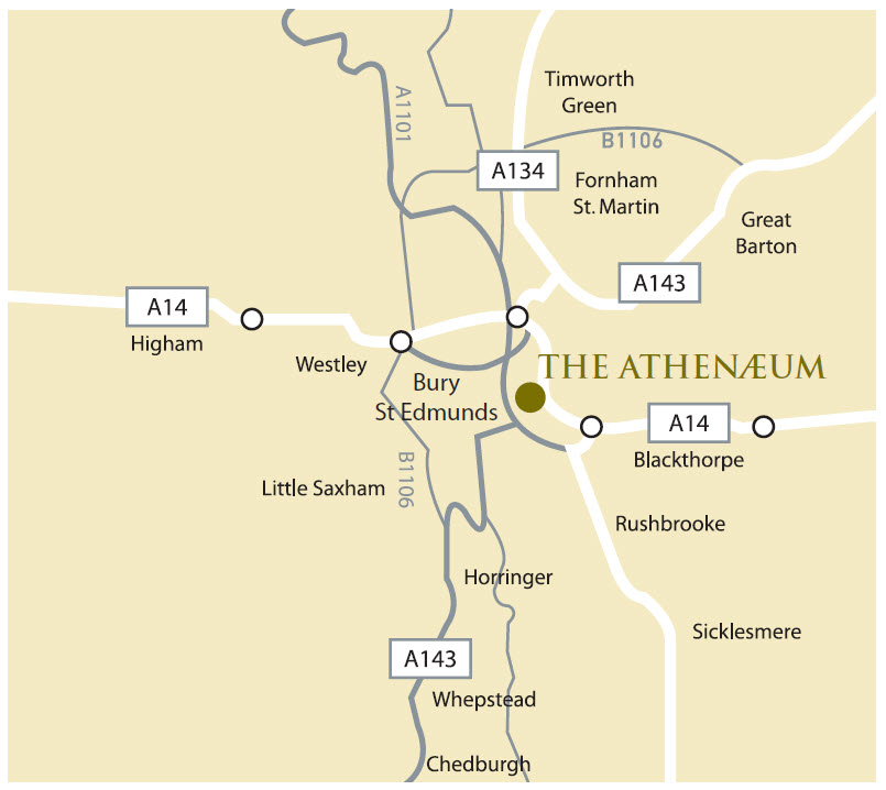 How to find the Athenaeum